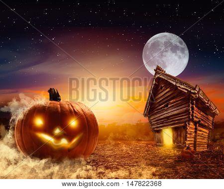 landscape for halloween