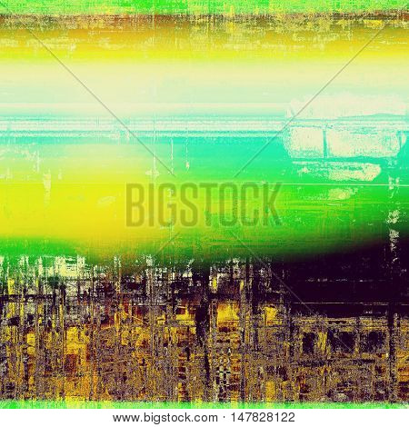 Colorful grunge background, tinted vintage style texture. With different color patterns: yellow (beige); green; blue; purple (violet); white