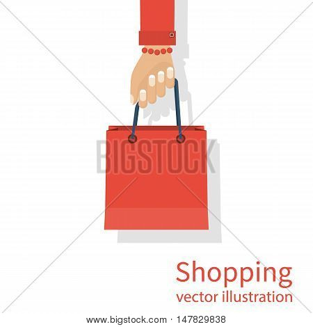 Shopping Bag In Hand
