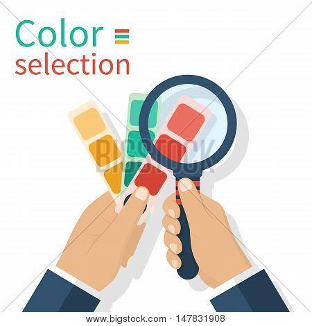 Holding Palette Sample