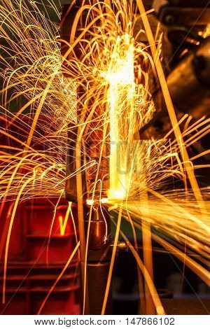 Light on link automotive spot welding Industrial