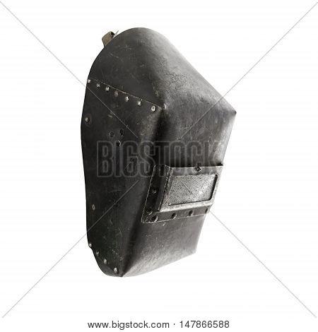 Welding Mask Isolated On White