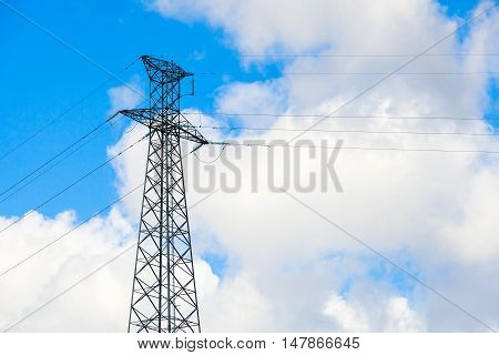 Steel Tower Of High-voltage Line