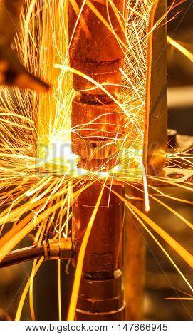 The Industrial welding spot nut automotive in thailand