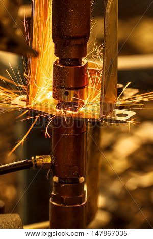 The Industrial auto parts welding automotive in thailand