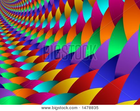 Colorful Scales, Fractal