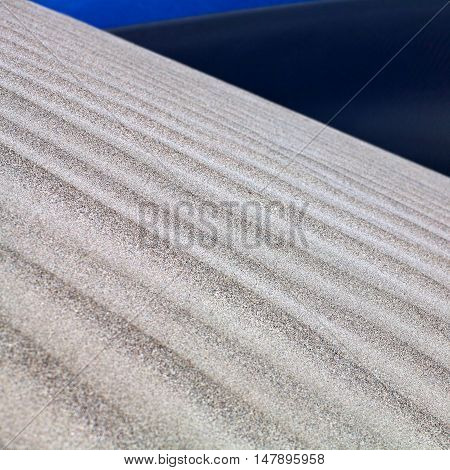 Sand dunes abstract background in cold desert of Nubra valley, India