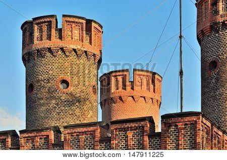 Friedrichsburg Gate - old German Fort in Koenigsberg. Kaliningrad, until 1946 Koenigsberg, Russia