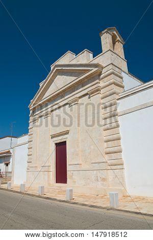 Church of St. Francesco. Sammichele di Bari. Puglia. Italy.