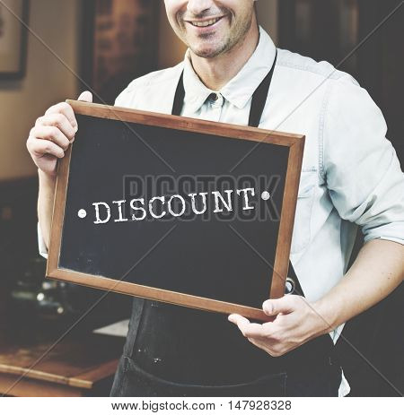 Discount Consumerism Price Promotion Graphic Concept