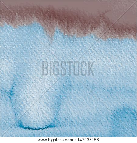 hand drawing abstract watercolor background, aquarelle texture vector illustration