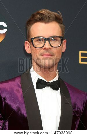 LOS ANGELES - SEP 18:  Brad Goreski at the 2016 Primetime Emmy Awards - Arrivals at the Microsoft Theater on September 18, 2016 in Los Angeles, CA