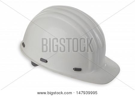Hard Hat isolated on white background. Shot in Studio.