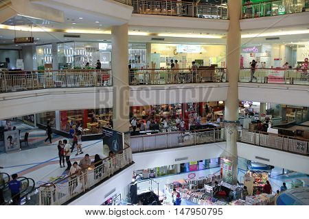 Inside Of Central  Chiangmai Airport Plaza.