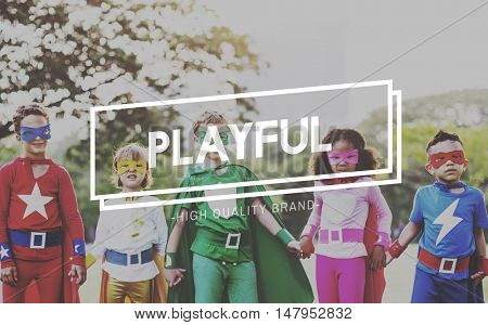 Playful Fun Joy Leisure Playing Recreation Play Concept