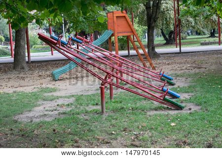 Playground where kids can enjoy a day
