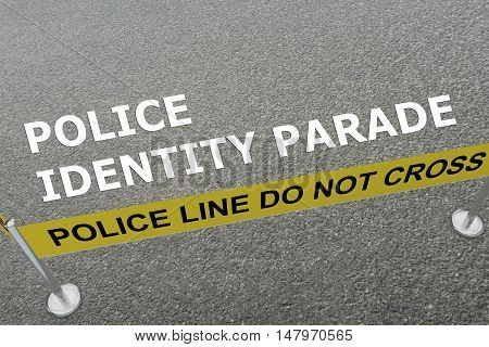 Police Identity Parade Concept