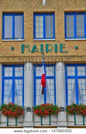 Le Mesnil Esnard France - june 22 2016 : the city hall