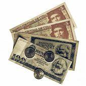 Vintage Banknotes poster