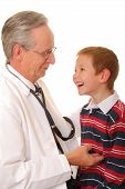 Doctor With Patient 2 poster