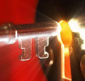 stock photo of open door  - Key  - JPG