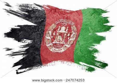 Grunge Afghanistan Flag Afghanistan Flag
