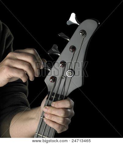 Bass Guitar Tuning