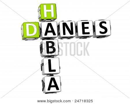 3D Habla Danes Crossword