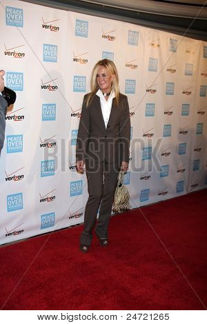 LOS ANGELES - OCT 28:  Joan Van Ark arriving at the Peace Over Violence 40th Annual Humanitarian Awards Dinner  at Beverly Hills Hotel on October 28, 2011 in Beverly Hills, CA