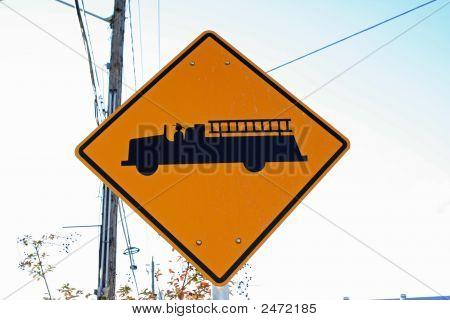 Firetruck Sign