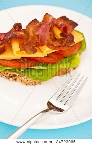 Open Blt Sandwich