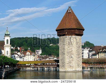 Water Tower & Chapel Bridge