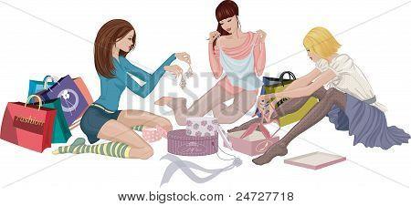 Gekaufte Kleidung