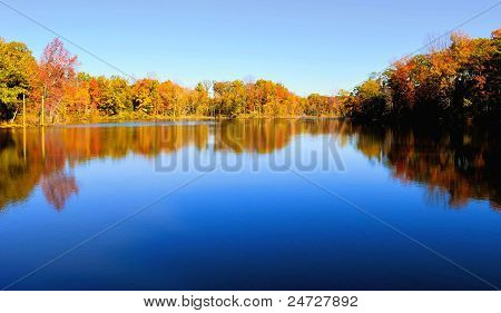 Reflections of Fall Colors