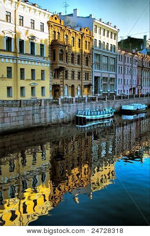 Channel of Saint-Petersburg