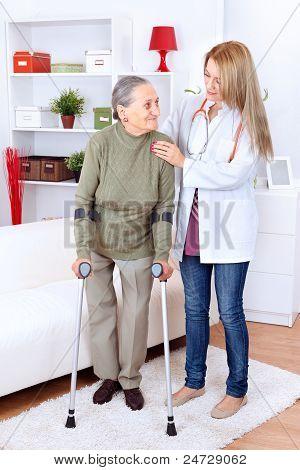 Cuidado de la enfermera