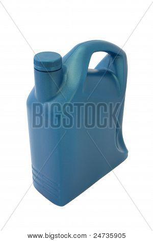 Recipiente de plástico de óleo lubrificante