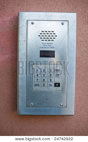 entry phone intercom