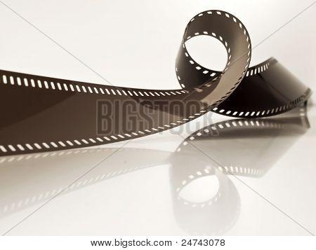 Undeveloped Film Strip