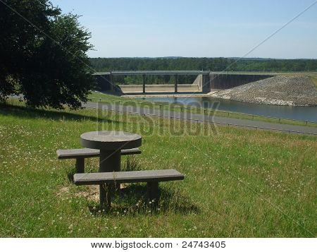 Dam at Lake O' the Pines