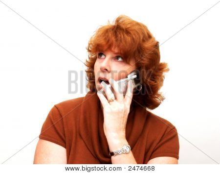 Women On Cell Phone