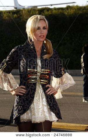 LOS ANGELES - OCT 29:  Camille Grammer arriving at the 18th Annual 'Dream Halloween Los Angeles' at Barker Hanger on October 29, 2011 in Santa Monica, CA