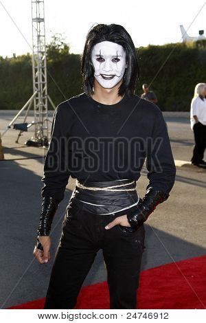LOS ANGELES - OCT 29:  BooBoo Stewart arriving at the 18th Annual 'Dream Halloween Los Angeles' at Barker Hanger on October 29, 2011 in Santa Monica, CA