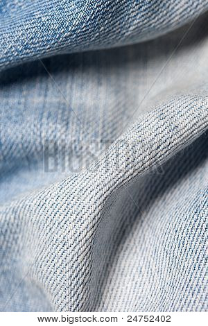 Jeans wellig