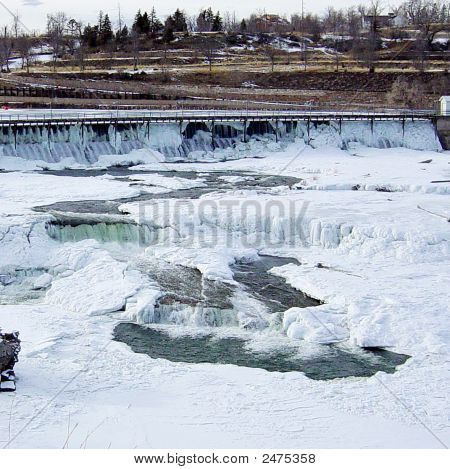 Black Eagle Falls Ice