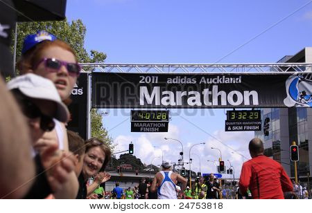 Auckland Marathon Run Race