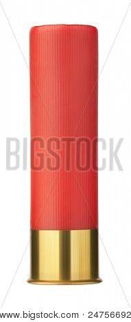 shotgun shells isolated on white background