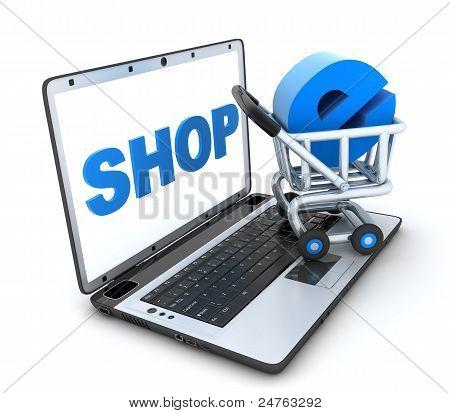 Abstract E-shop