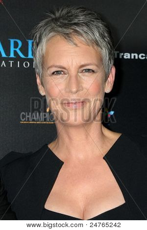 LOS ANGELES - OCT 30:  Jamie Lee Curtis at the sCare Foundation  Benefit at Conga Room - LA Live on October 30, 2011 in Los Angeles, CA