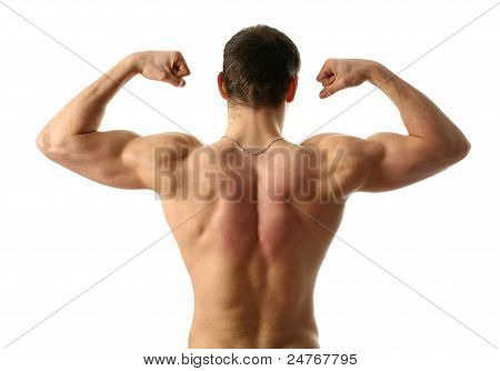 Flexing Biceps